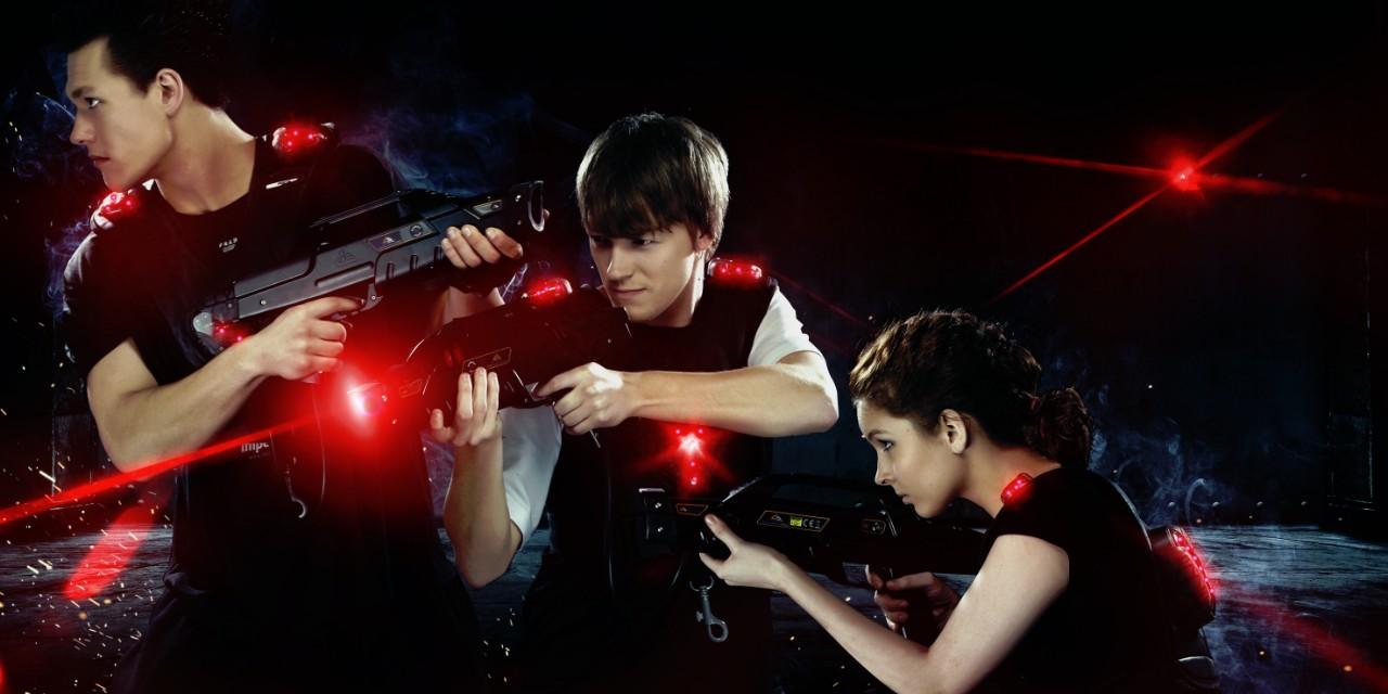 Laser game je ta pravá zábava