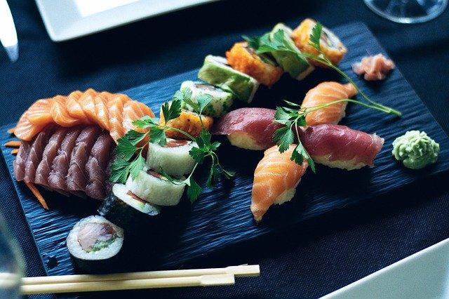 Sushi- bohaté na zdravé tuky