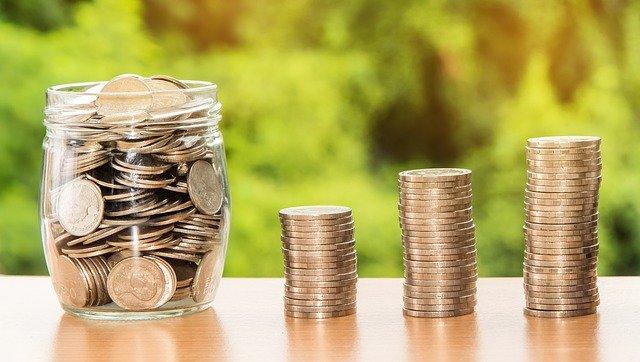 uspořádané mince